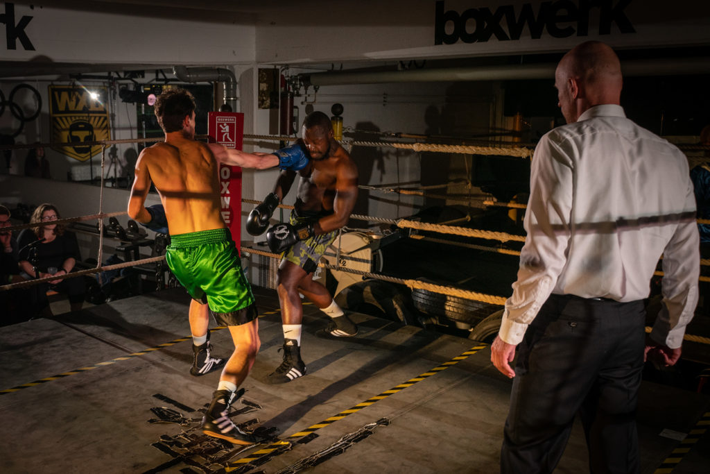 Sportler des BOXWERK München beim HIDALGO Box-Salon, Credit: Max Ott
